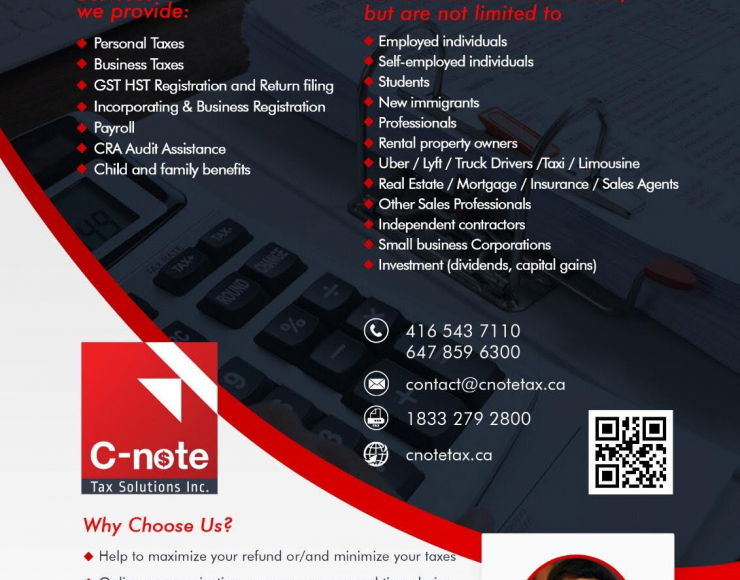 C-note Tax Solutions Inc.