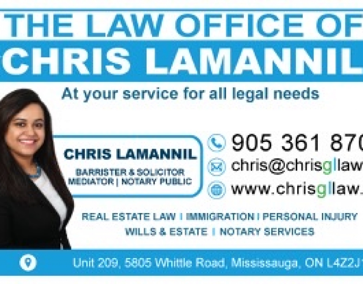 Chris Lamannil – Malayali Lawyer, Barrister, Solicitor