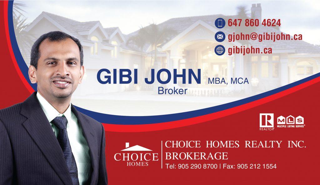 Gibi John – Realtor