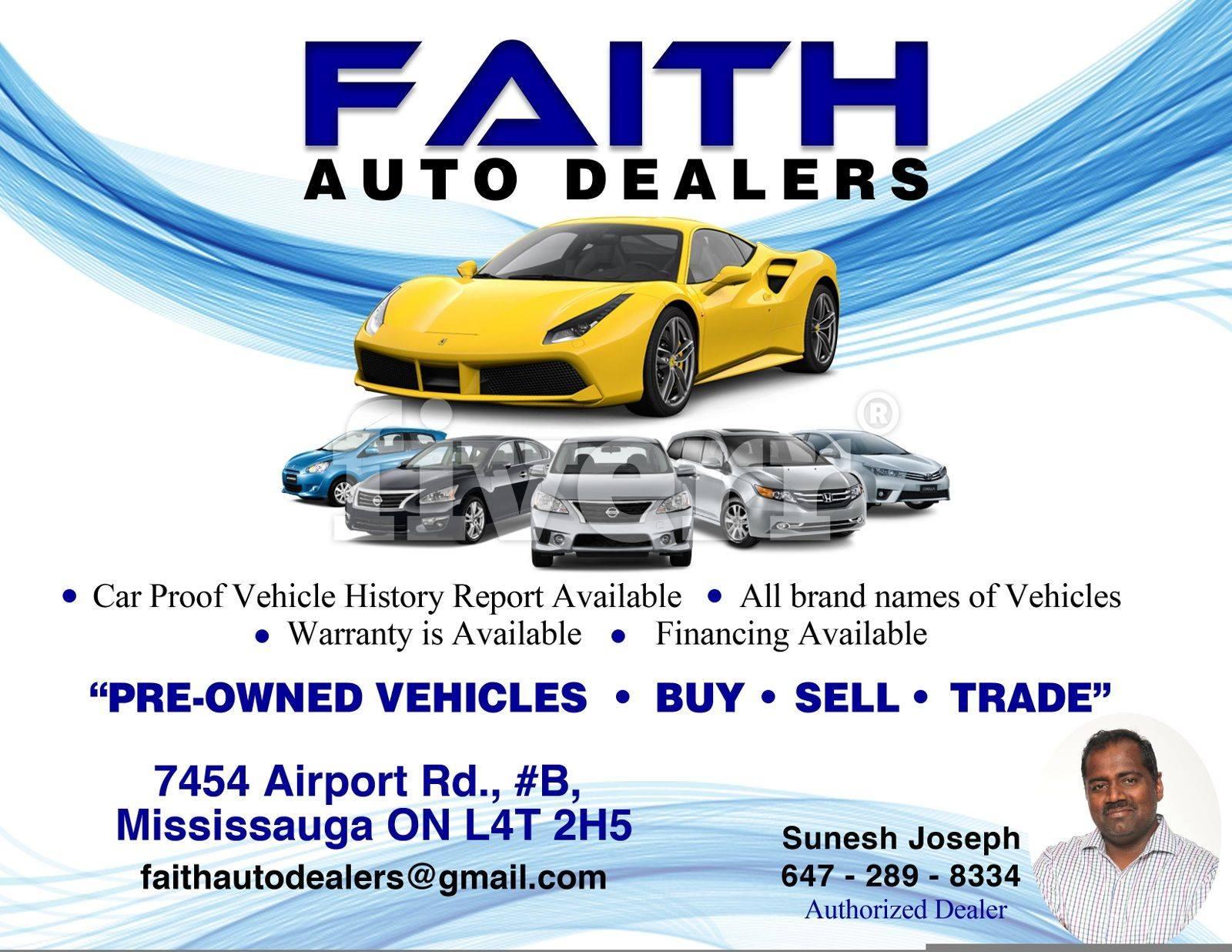 Faith Auto Dealers