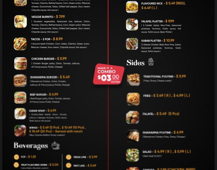 Shawarma Al-farooj