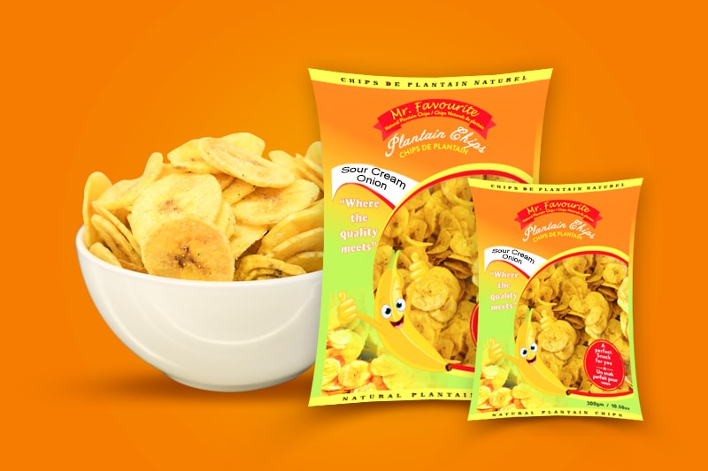 Mr. Favourite – Natural Plantain Chips