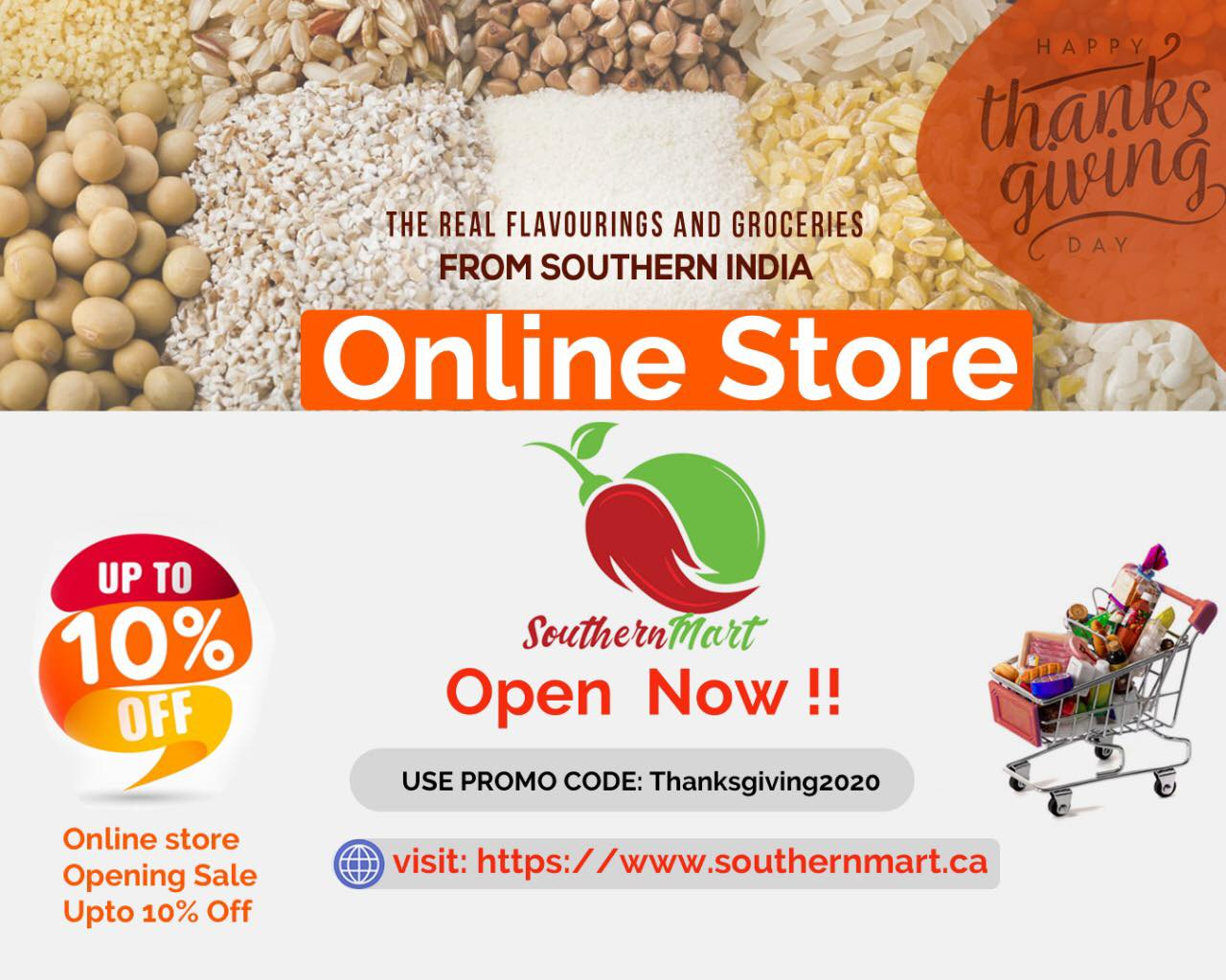 Southern Mart Online Store